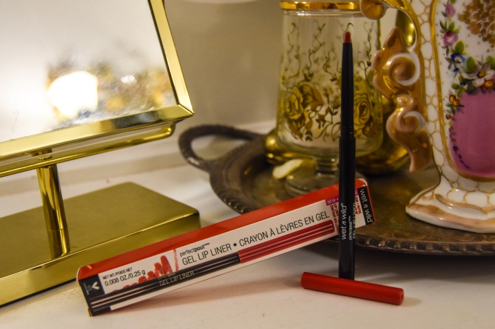 Wet n Wild Perfect Pout Gel Lip Liner, Red The Scene
