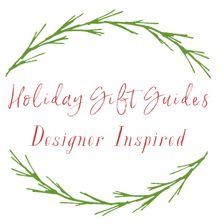 Gift Guide: Designer Inspired