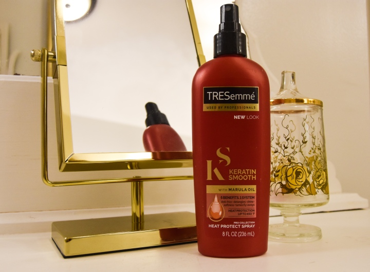TRESemmé Keratin Smooth with Marula Oil Heat Protectant Spray