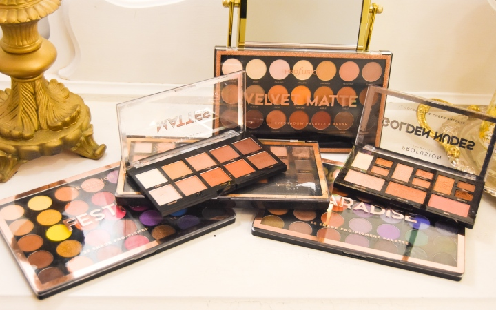 Profusion Cosmetics EyeshadowPalettes